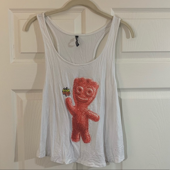 sour patch kids Tops - Sour patch kids Cropped tank top